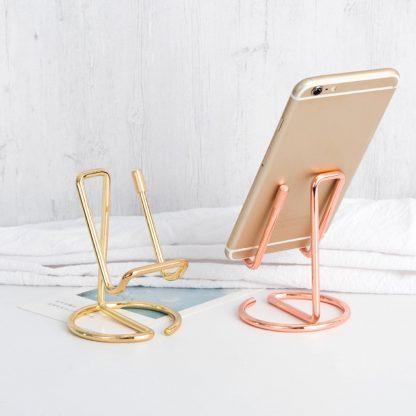 Arany telefontartó